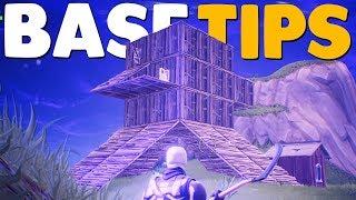 5 Base Building Tips for Fortnite Battle Royale