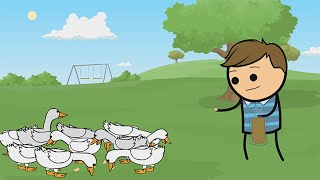 Donovan Duck - Cyanide & Happiness Shorts