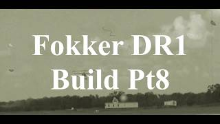 DW Hobby Fokker DR1 build Pt8 RC Model Geeks