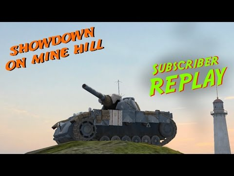 World of Tanks BLITZ - Subscriber Replay - hirakiDFM - Showdown on Mine Hill