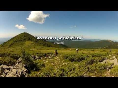 Aventuri pe bicicletă : Coborare cu bicicleta de pe Muntele Găina