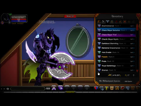 =AQW= How to get rank 10 in chaos EASY