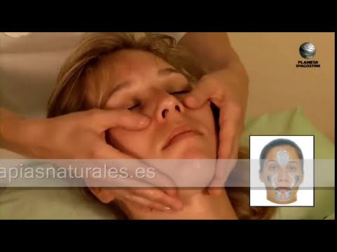 Reflexología facial - Terapias Naturales