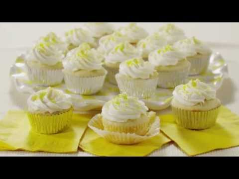 Cupcake Recipes   How To Make Lemon Cupcakes