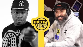 Ebro Responds To 50 Cent After Banned From Summer Jam Comments