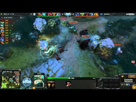 Team Tinker vs Elysium Game 1 - ESL One Frankfurt Qualifiers Europe - @DotaCapitalist @RyuuboruzDota