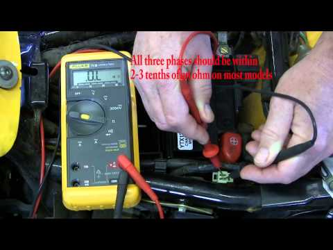 Ricks Motorsport Electrics. Inc. How to test a motorcycle stator