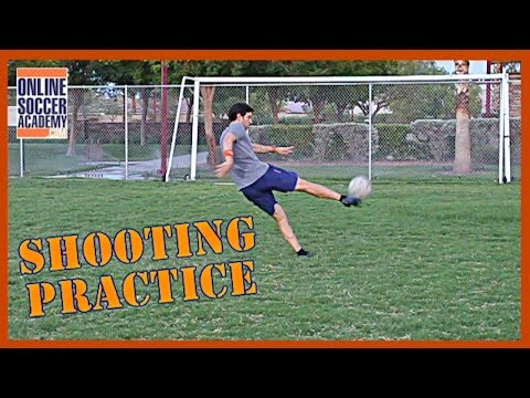 Robin Van Persie *Advanced* Soccer Shooting Tutorial - Online Soccer Academy