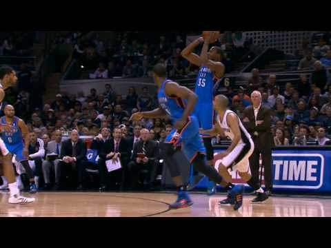 Duel: Kevin Durant vs Tony Parker