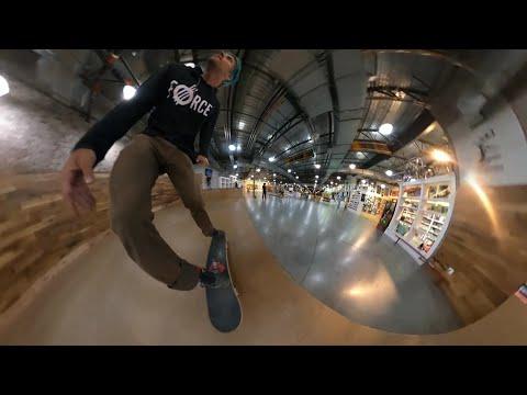 GOPRO MAX Reframing Skate Test
