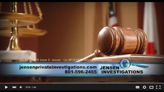 Private Investigator Jason Jensen / Jensen Investigations Around the Town with Kari Hawker