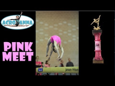 Annie the Gymnast | USAG New Level 5 Gymnastics Meet 5 | Pink Invitational | Acroanna