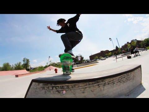 Ethernal Skate Films / Skateboarding Montage @ Skatepark Verdun (Montreal–Qc)