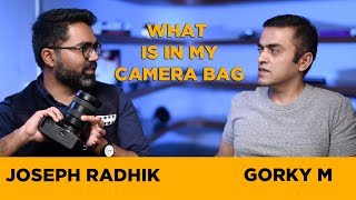 Joseph Radhik talks about PePx (free passes giveaway) and his camera equipment