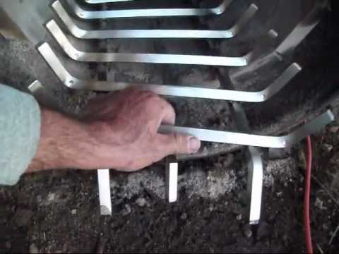 Barrel Wood Stove - Stainless Steel Grate and Nightly Operation