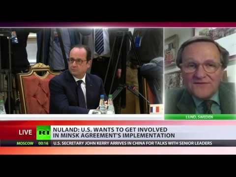 Jan Oberg interview with RT international on Nuland's visit to Ukraine