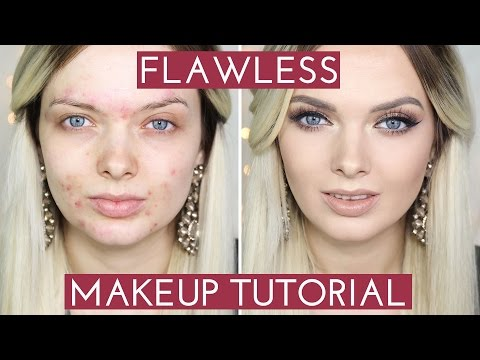 ACNE COVERAGE// Flawless Foundation Makeup Tutorial //  MyPaleSkin