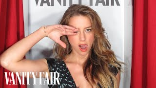 Amber Heard Talks About Hollywood & Admiring Angelina Jolie - @VFHollywood