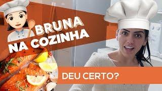 Como fazer um salmão fit! #BRUNANACOZINHA
