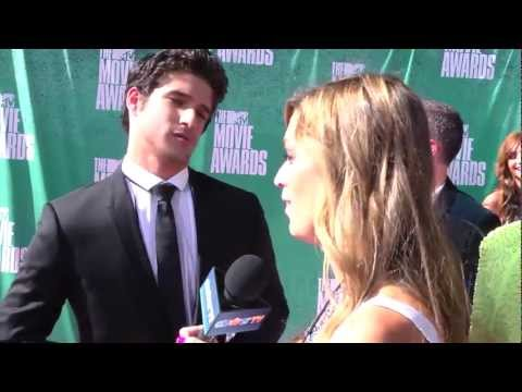 Tyler Posey 'Teen Wolf' Interview- MTV Movie Awards 2012