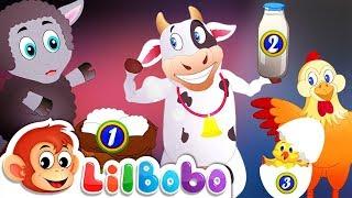 Baa Baa Black Sheep & Other Farm Animals   Little BoBo Nursery Rhymes   FlickBox Kids Songs
