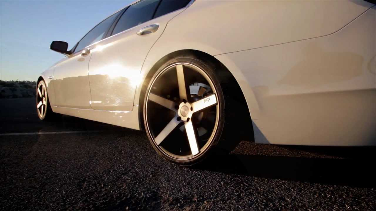 Bmw 528i On 20 Quot Niche Milan Wheels Rims Youtube