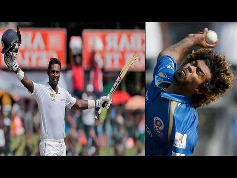 Malinga quits captaincy, Angelo Mathews to lead Sri Lanka in ICC World T20