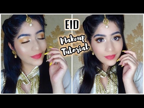 EID Makeup Tutorial || Eid Makeup Look 2018 || Arushi Pahwa