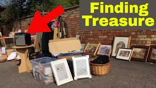Treasure Hunting Vlog - We go on a Garage Sale Trail - UK ebay reselling