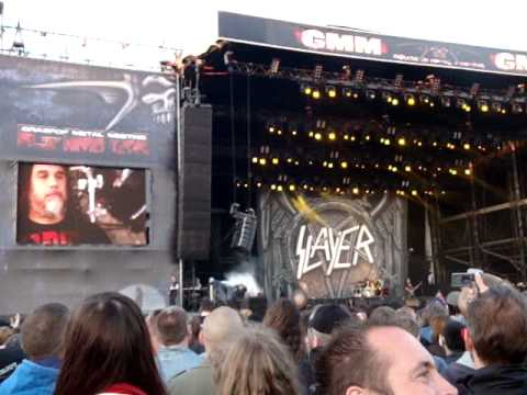 Slayer : Extrait 2 (Live At Graspop Metal Meeting 2012).
