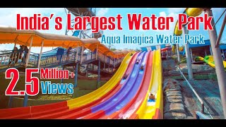 Aqua Imagica Water Park | India's Largest Water Park | Mumbai to Khopoli Ride | 1080p HD