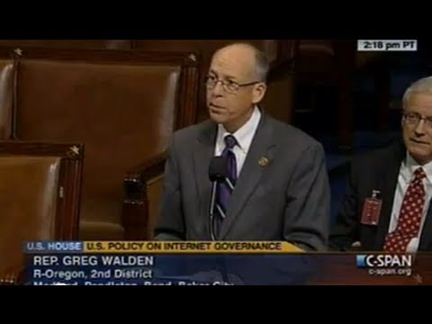 Greg Walden's bill to advance internet freedom approved by U.S. House