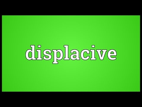 Header of Displacive