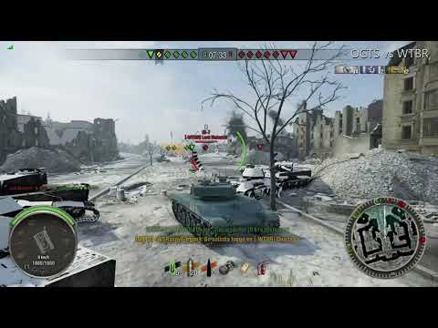 OGTS vs WTBR World of tanks Xbox One