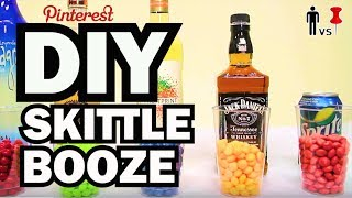 DIY Skittles Booze - Man Vs.Pin #27