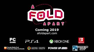 A Fold Apart Folding Paper Puzzle Game Preview Trailer