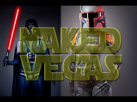 Naked Vegas Star Wars Day Project 2014 - Behind The Scenes