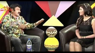 Anjali Interviews Balakrishna About Dictator Movie Part 2 - Sonal Chauhan