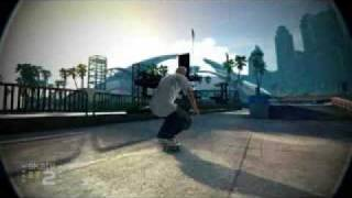 EA Skate 2 Prominent team owning GvR park montage