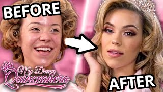 Quince Makeup Before and After | My Dream Quinceañera - Anika  EP 4