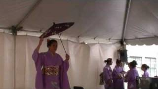 Solo Japanese Dance by Sho-Jo-Ji Japanese Dancer
