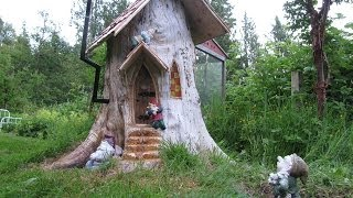 Gnome stump home