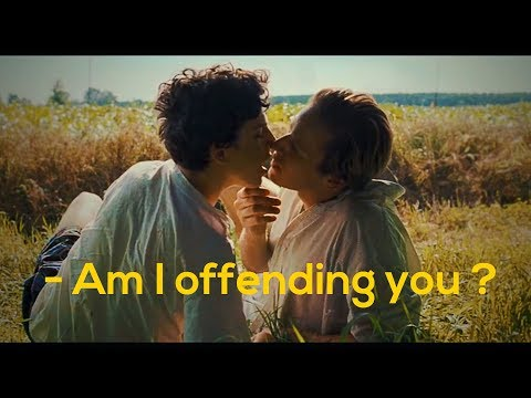 Call Me By Your Name | First Kiss Scene | Timothee Chalamet and Armie Hammer