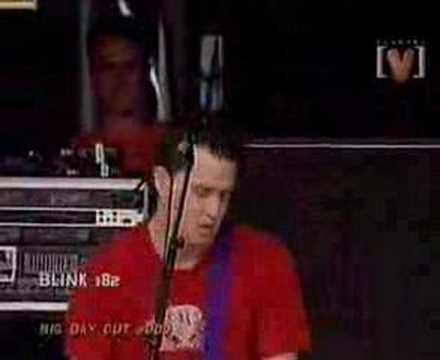 Blink 182 Dont Leave Me Live At Sydney Big Day Out 2000
