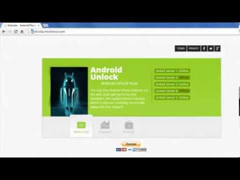 Free Android Unlock 2014 [Samsung Galaxy S5]