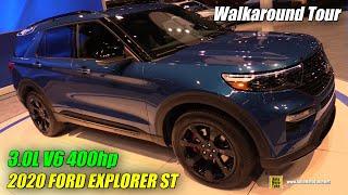 2020 Ford Explorer ST - Exterior and Interior Walkaround - 2019 Chicago Auto Show
