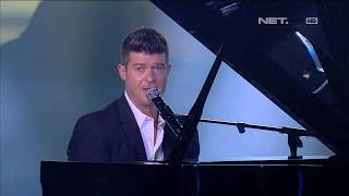 Robin Thicke - Sweetest Love - LIVE from NET 4.0 presents Indonesian Choice Awards 2017