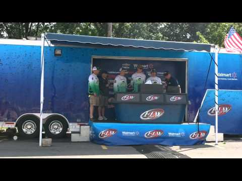 2013 Oak Lawn Community High School Spartan Fishing Team State Bass Finals Weigh-In