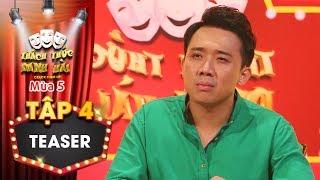 Thách thức danh hài 5 Teaser tập 4:Trấn Thành bất ngờ cúi đầu xin lỗi khán giả, chuyện gì đã xảy ra?