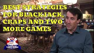 """Best Strategies for Blackjack, Craps & 2 More Games with Michael """"Wizard of Odds"""" Shackleford"""